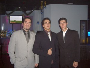 Sergio, Juan y yo en laventura navidad