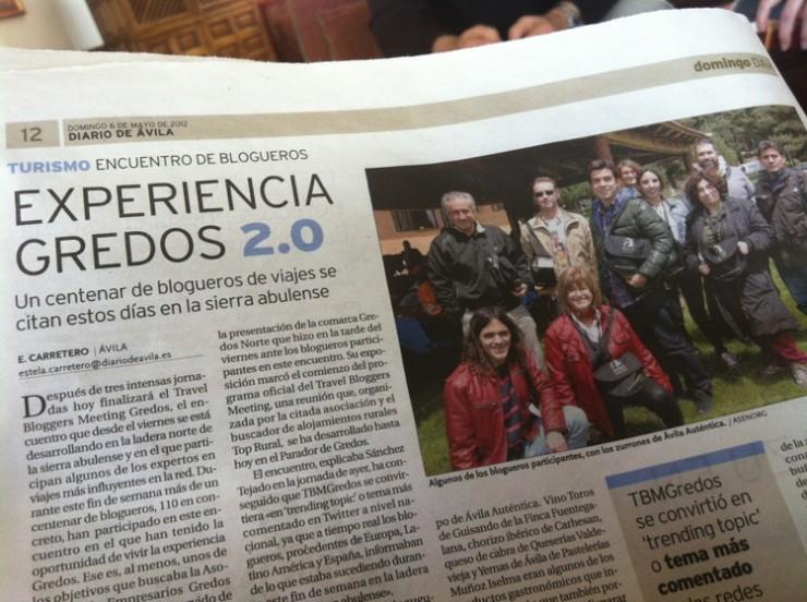 Experiencia 2.0 en Gredos